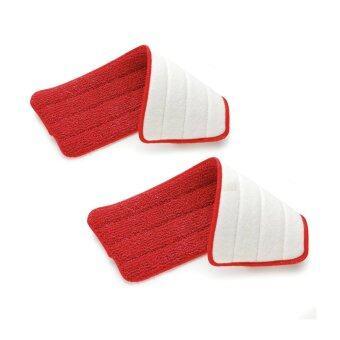 Spray Mop Microfiber Pad Refill 2pcs (Red)