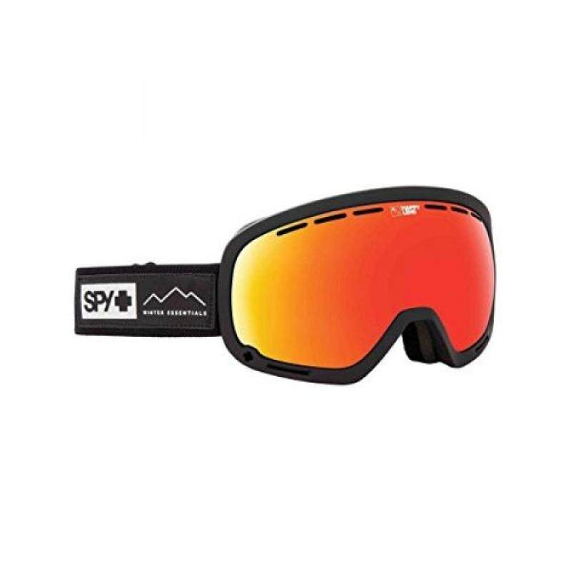 Buy SPY Optic Marshall Essential Black Snow Goggles  Aviation Scoop Design Ski, Snowboard or Snowmobile Goggle  Two Lenses with Patented Happy Lens Tech Malaysia