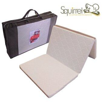 Harga Squirrel Tri-Fold Mattress 2 units- Single Foldable Mattress-Durable Foam & 5 Years Warranty