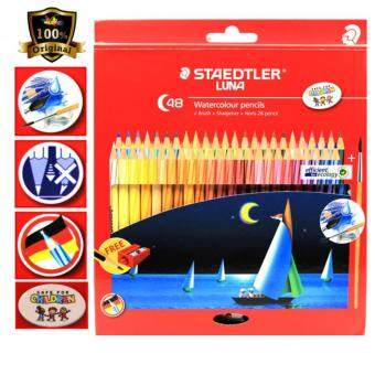 Harga Staedtler Luna Watercolour Pencils 48 Colour - 61Set37 ID