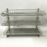 Stainless Steel 304 (18-8) D.I.Y. Three Tier Dish Rack (650mm)