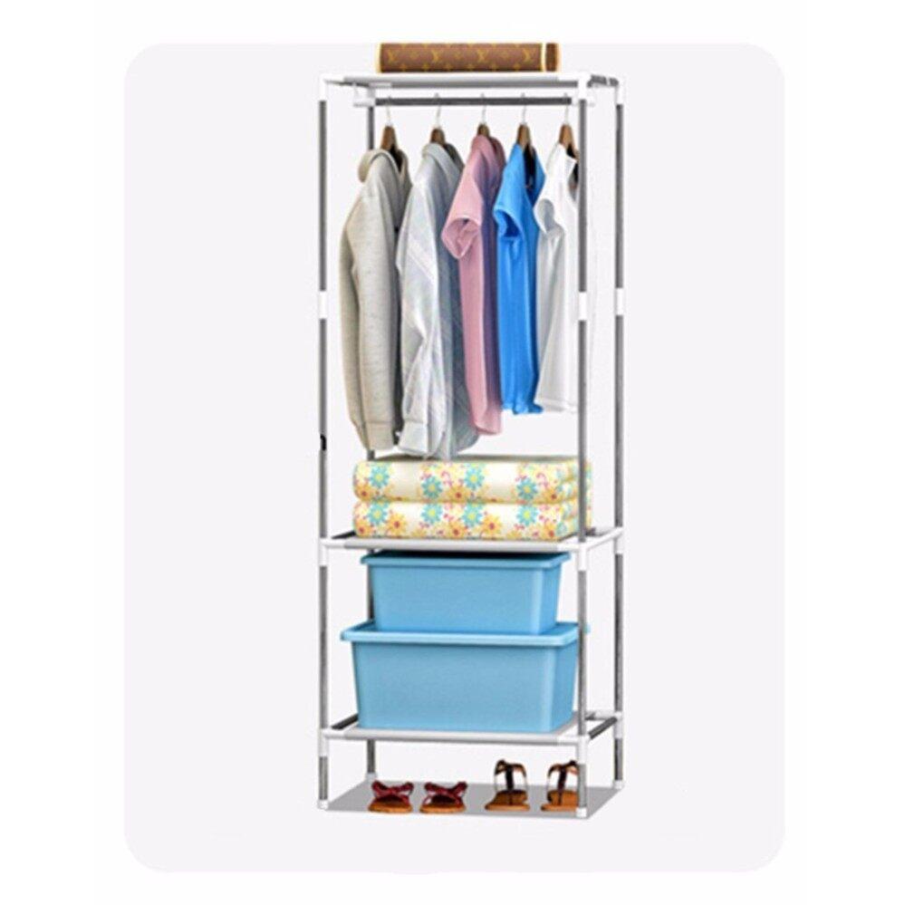 Clothes Rack Space Saving Clothes Hanging Organizer