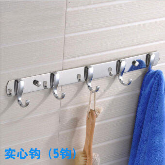 Stainless steel hook wall clothes hook toilet wall door on the wall hanger kitchen room bathroom