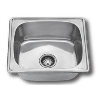 Stainless Steel Sink Bowl - 480mm x 430mm x 165mm - 0.6mm Thickness