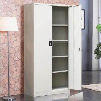 Harga Steel Filing Cabinet Metal Locker - Grey