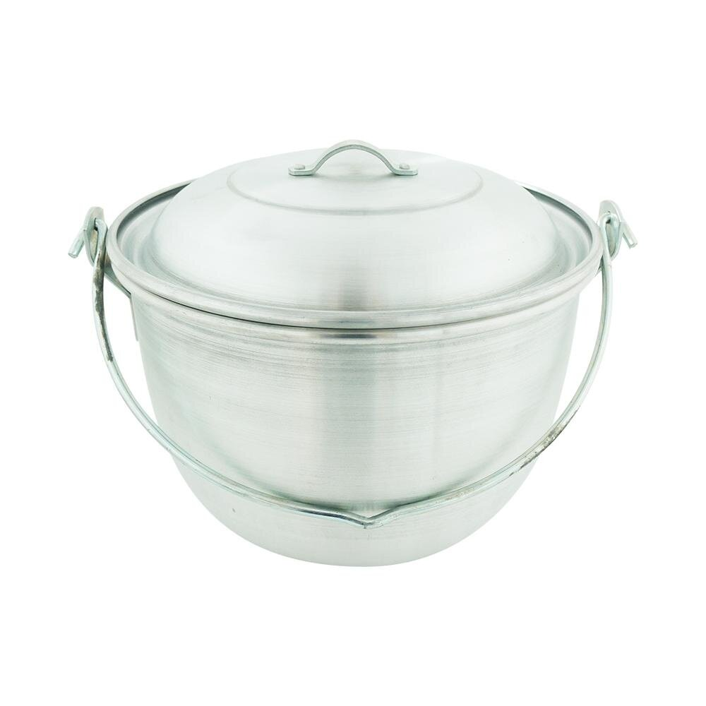 Stock Pot Aluminium With Handle - 34cm