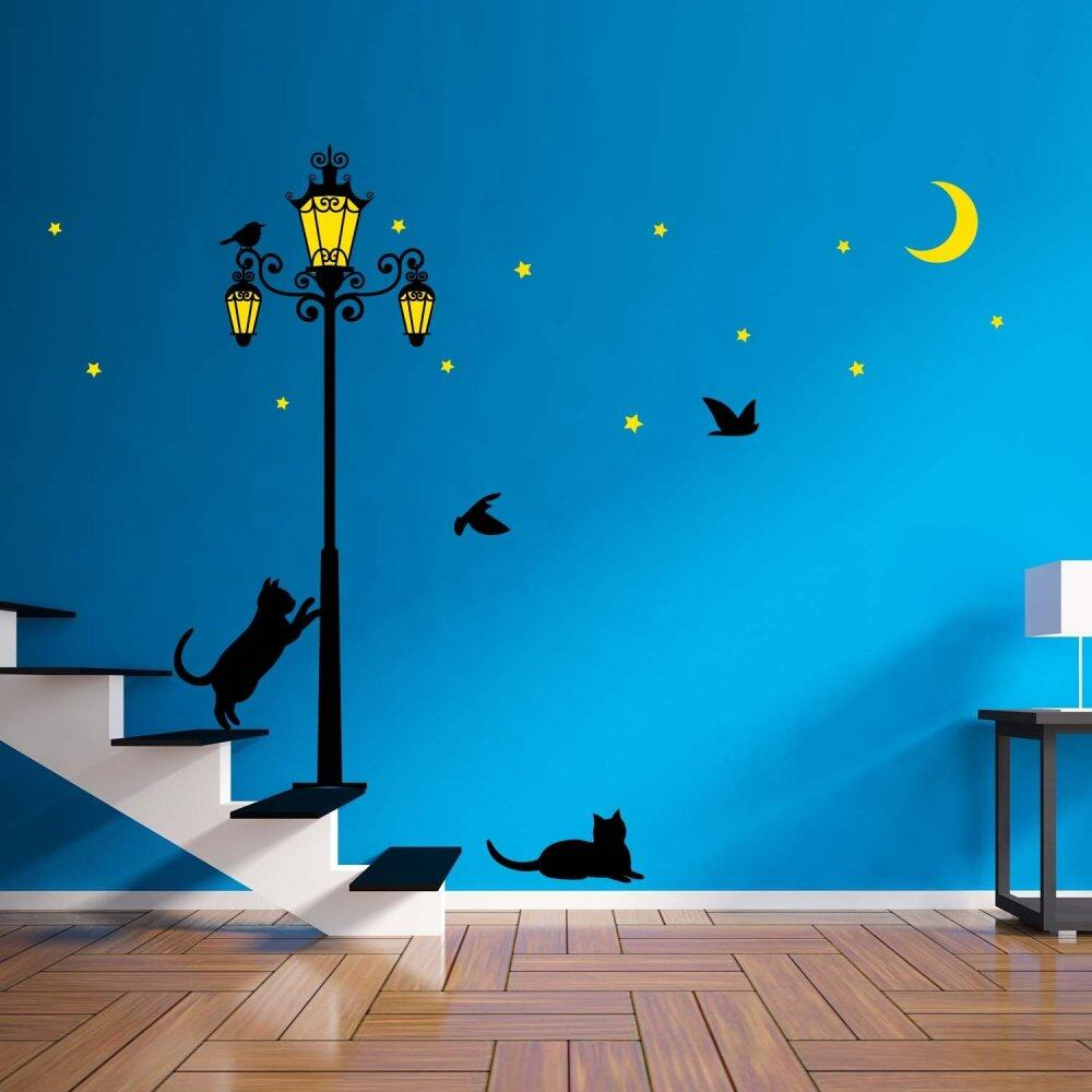 Street Light Glow In The Dark Wall Stickers | Lazada Malaysia Part 85