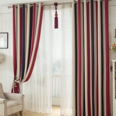 Striped Printed Window Curtains For The Bedroom Fancy Children Modern  Curtains For Living Room Blackout Curtains For Kids Part 69