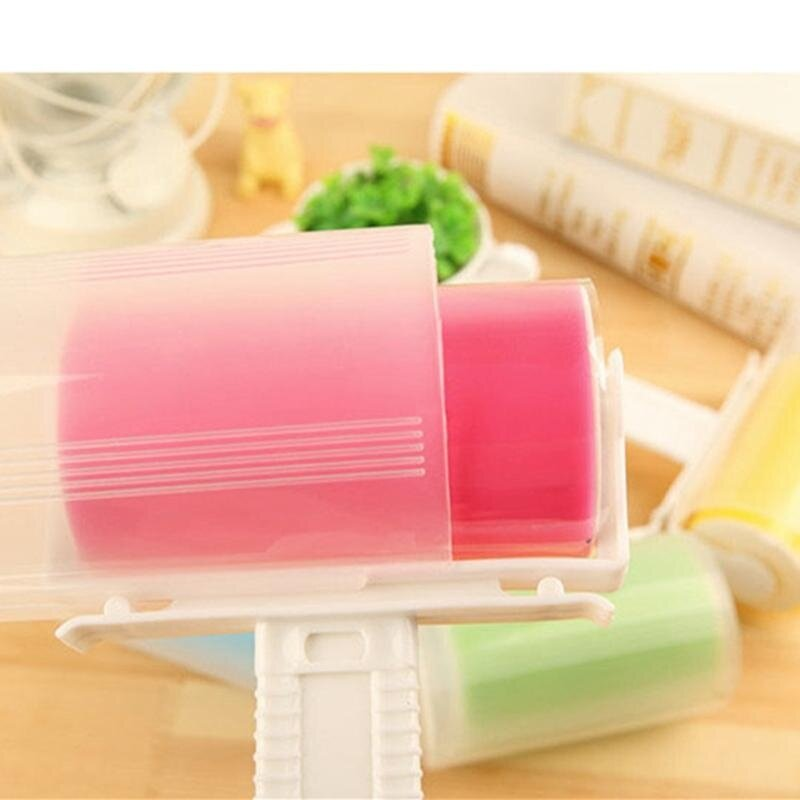 Sunny's Shop Reusable Washable Sticky Picker Clothes Cleaner Lint Roller Pet Hair Remover Brush Blue -