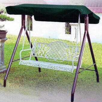 Sunshine Outdoor Metal Swing with Canopy