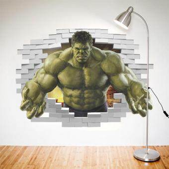Superheroes Avengers The Incredible HULK Wall Sticker Kids Bedroom Decor Decal