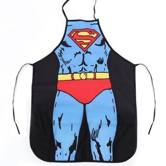 Superman waterproof anti-oil anti-dirty chef apron couple apron