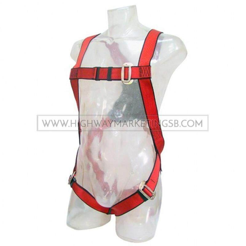 Buy Supersonic FBH10302 Full Body Harness c/w Absorber Double Lanyard Malaysia