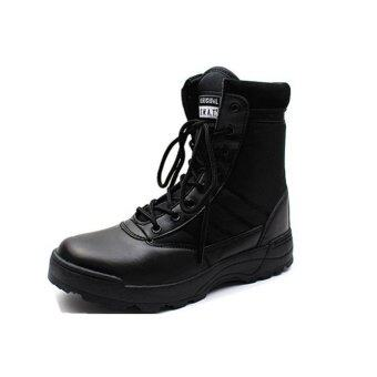 Swat outdoor military boots special forces combat boots tactical boots desert boots Size 42# - 3