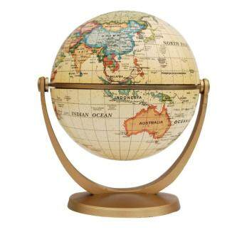 Swivel and Tilt Antique Ocean 4-inch Globe (4-inches)