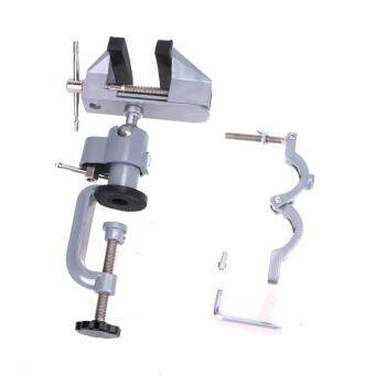 Table Bench Vice Alloy 360 Degree Rotating Universal Clamp - 5