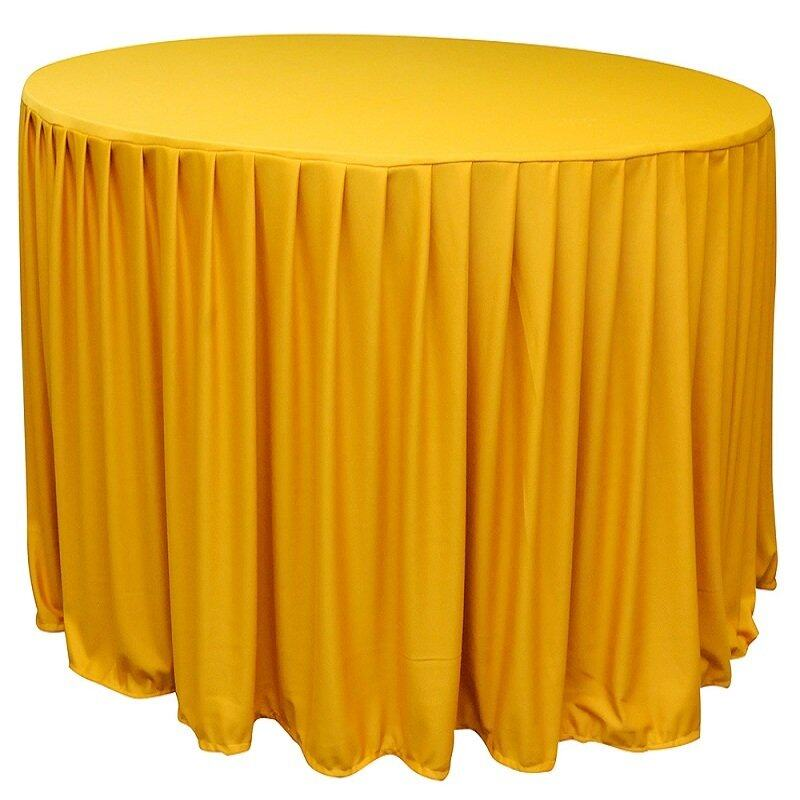 Table Cloth For Round Table (Yellow) | Lazada Malaysia