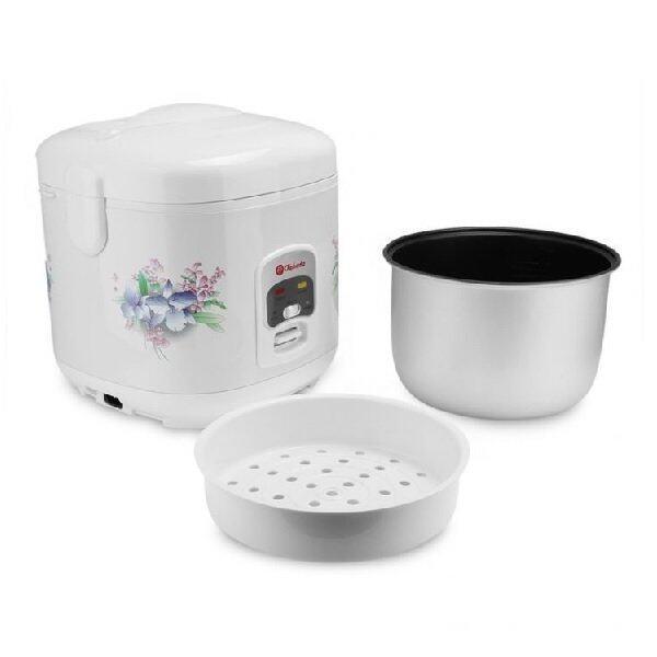 Takada PRC-18L 3-in-1 Rice/Porridge Cooker With Steamer(1.8L)-White