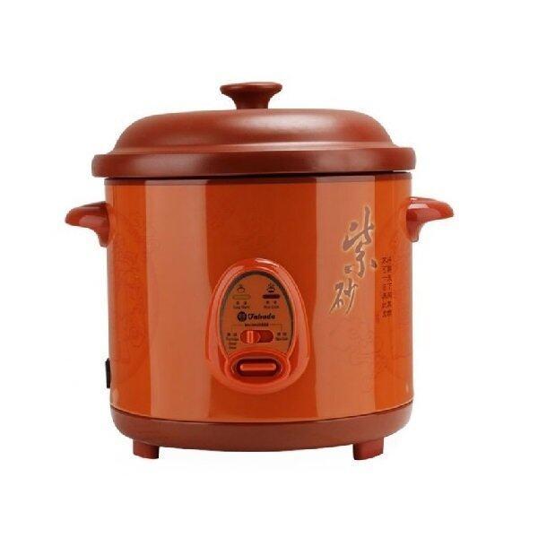 Takada Zisa CFXZ-1.8L 4-in-1 Rice Cooker/Porridge/Soup Cooker & Stew Pot (Brown)