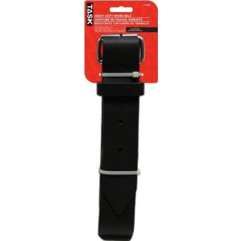 Buy Task Tools T77230 Heavy-Duty Leather Work Belt which Fits Waists from 30-Inch to 47-Inch Malaysia