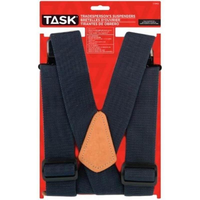 Buy Task Tools T77412 No Elastic Tradespersons Suspenders, Blue Malaysia