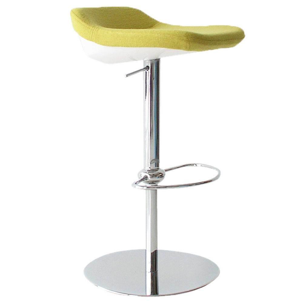 tekkashop bc1036 adjustable fabric bar stool bar chair green lazada malaysia