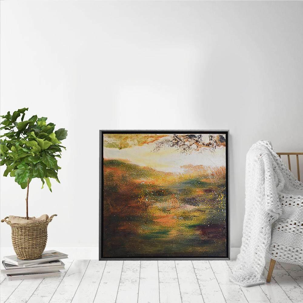 Tekkashop DW-1025 Wall Decoration 3D Oil painting dream forest view ...