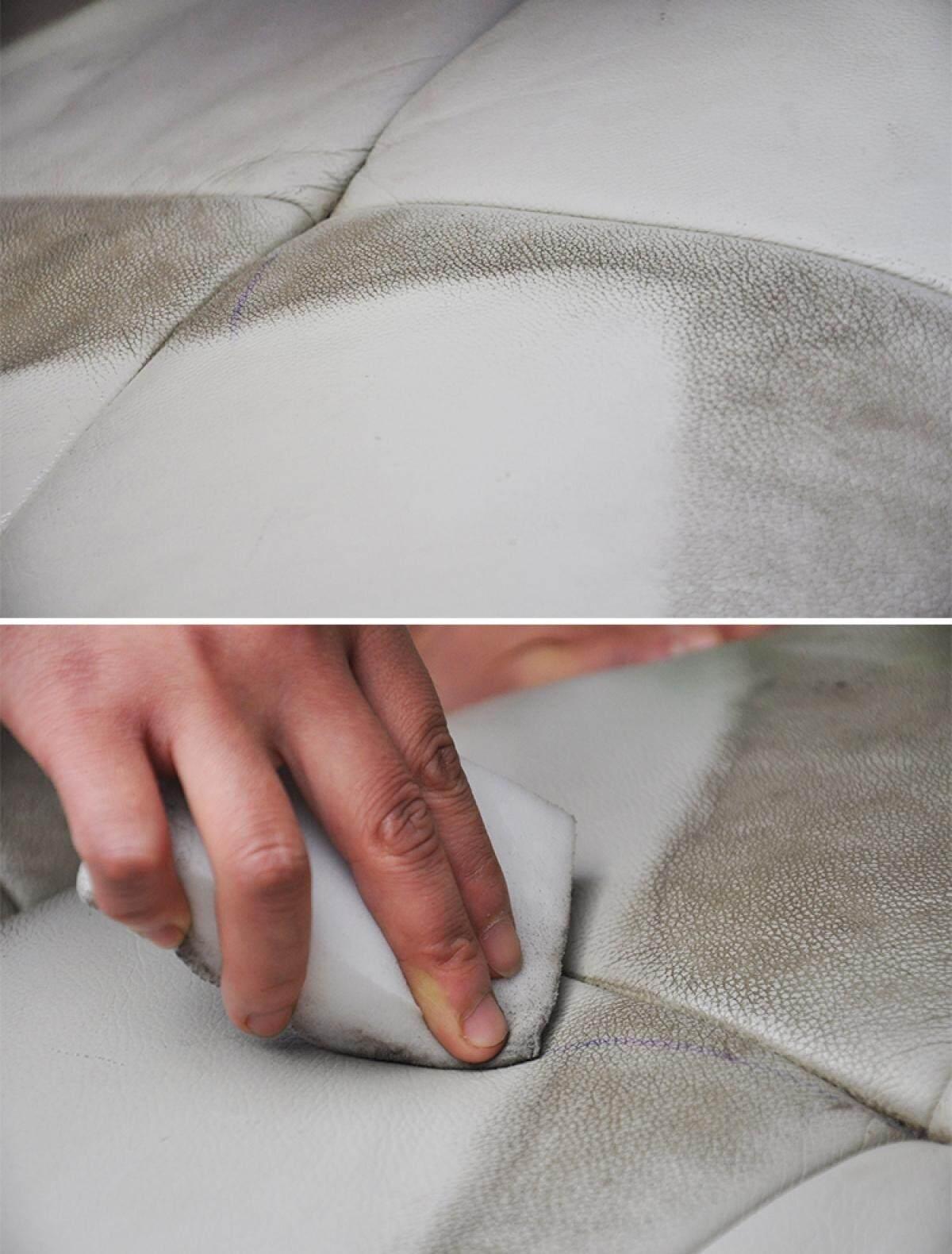 Tekkashop Multi Leather Cleaner Leather Furniture Moisturiser Gel 250g + Free Sponge