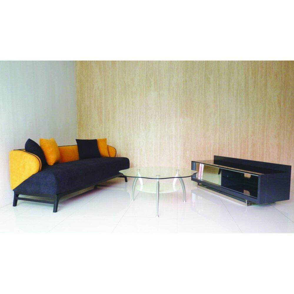 Tekkashop Queen Bed with Mattress + Free living room, bedroom and ...