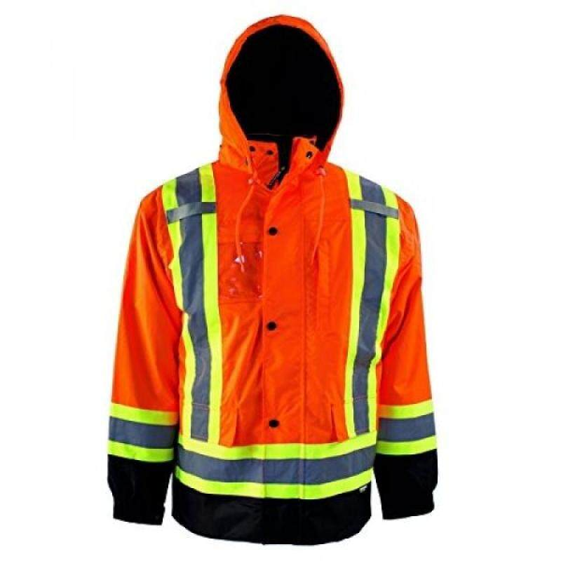 Buy Terra 116501ORXL High-Visibility 7-In-1 Reflective Safety Jacket, Orange, Malaysia