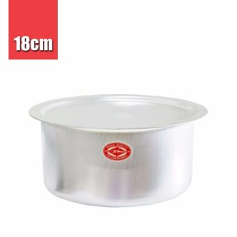 Harga Thailand Crocodile Brand | CCH Aluminium Indian Cooking Curry Soup Pot (18cm) 1pc