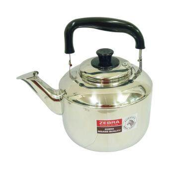 Thailand Zebra Brand | Stainless Steel Century Kettle Whistling Water Boiling (5.5L) 1pc