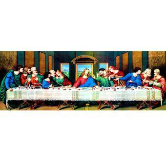 Harga The Last Supper 5D Diamond DIY Painting Craft Home Decor