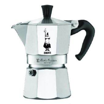 Harga The Original Bialetti Moka Express Made in Italy 6-Cup StovetopEspresso Maker with Patented Valve