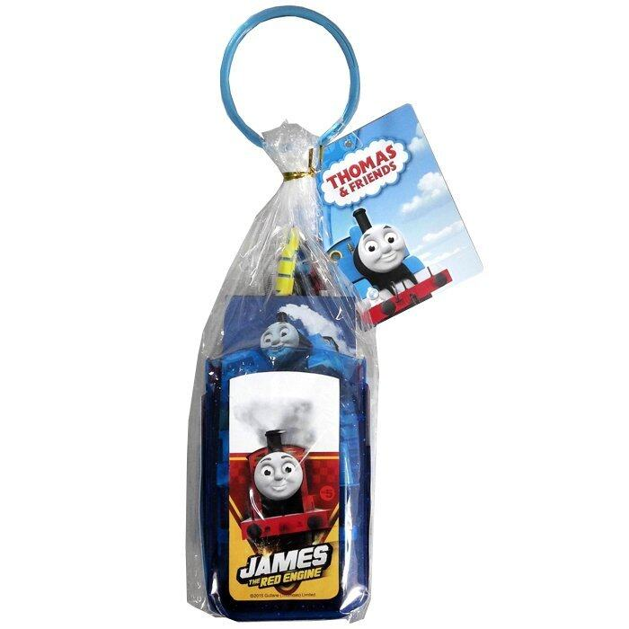 Thomas And Friends Pen Holder Stationery Set - Blue and Red Colour