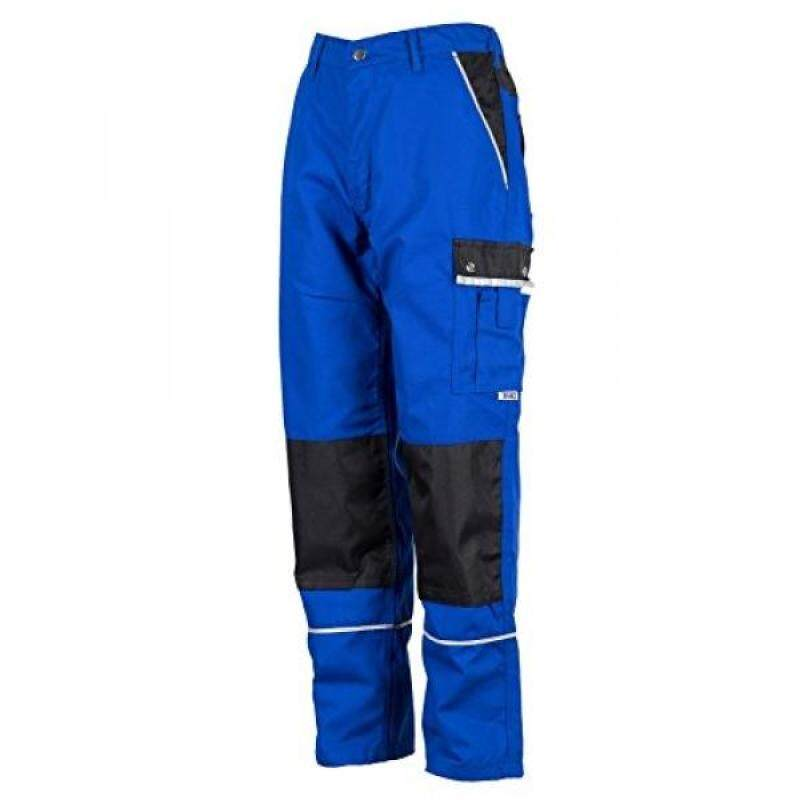 TMG Heavy Duty Cargo Work Trousers with Knee Pads Pockets 52 Blue