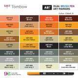 TOMBOW ABT-N15 Tombow ABT Dual Brush Pens (BLACK) - 5