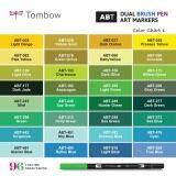 TOMBOW ABT-N15 Tombow ABT Dual Brush Pens (BLACK) - 3