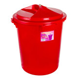 (OW) Toyogo Water Pail with Lid 75 Lit (Red)