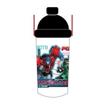 Transformers 350ML Water Bottle - Black Colour