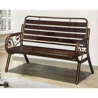 Harga TS FURNITURE BTE9002 Garden Bench Chair (Copper)