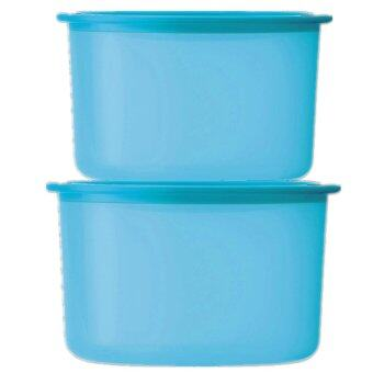 Harga Tupperware Airtight One Touch Topper Small 950ml + Junior 600ml