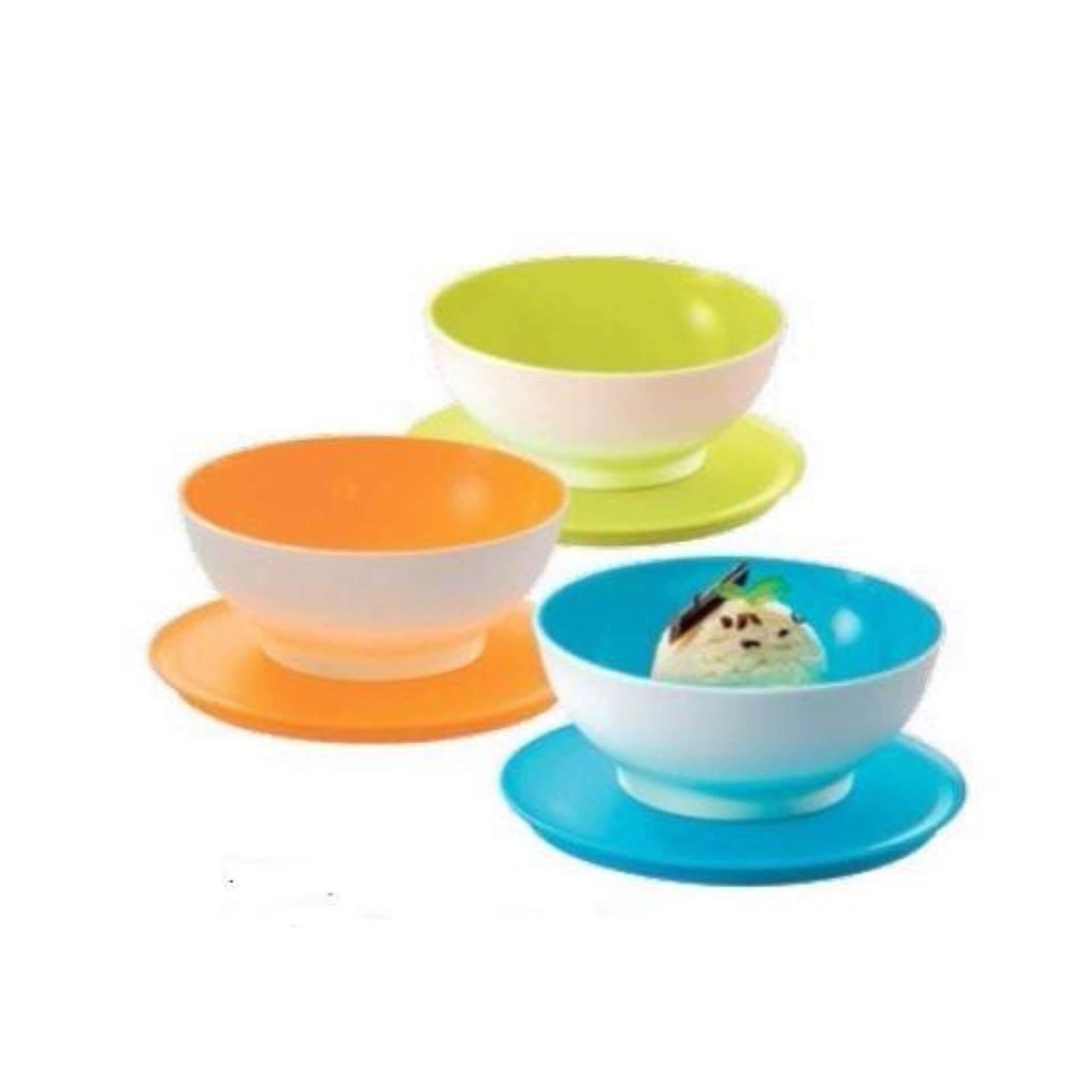 Lynn2u All Products Tupperware Eleganzia Bowl 600ml 4 Set Allegra Dessert Bowls 3 275ml