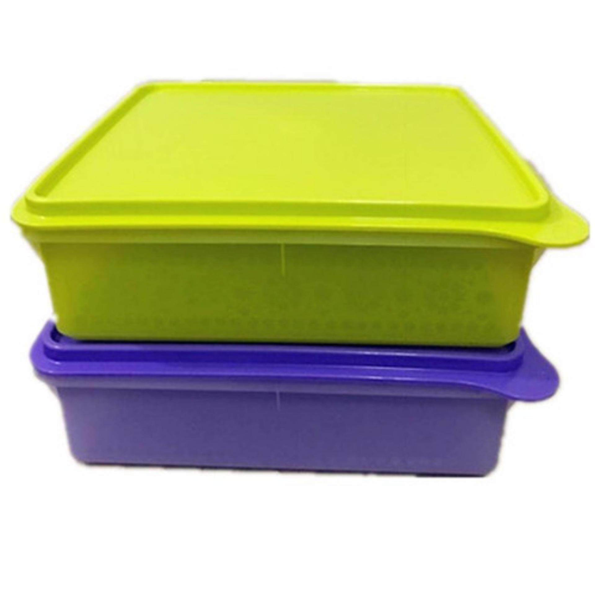 Tupperware B2B Snack Stor (1) 2.9L-Purple Blue