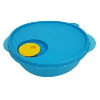 Harga Tupperware Blue Crystalwave Divided Dish