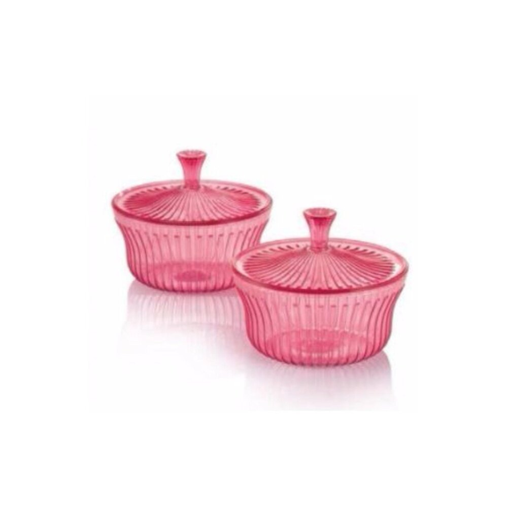 Tupperware Celebrate Small Server (2) 600ml