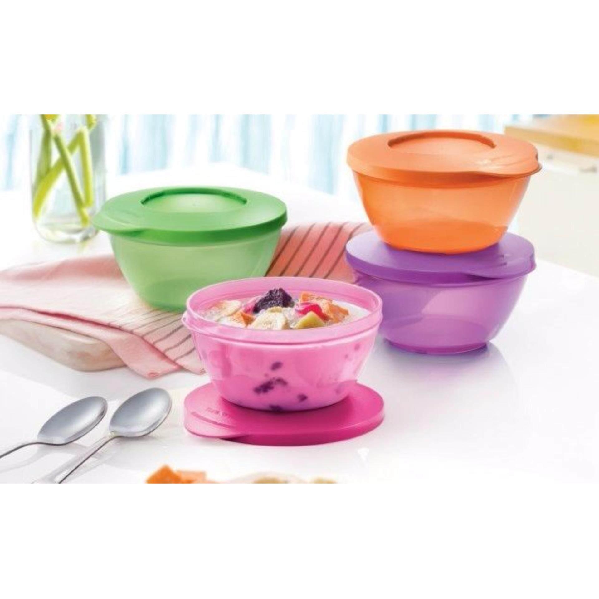 Tupperware Click Bowls (1)pc 425ml Only - Random Color Send