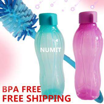 Harga Tupperware Eco Bottle 2X750ml Sea Green (BPA FREE) + DurableFlexible Eco Brush x1 (FREE SHIPPING)