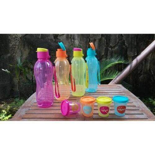 Tupperware Eco Bottle 500ml New (1 pcs) - Blue - Oversea Stock