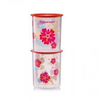 Tupperware Fortune Blooms Canisters Small (1)pc 2.0L Only